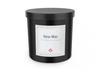 Velas olor Mac