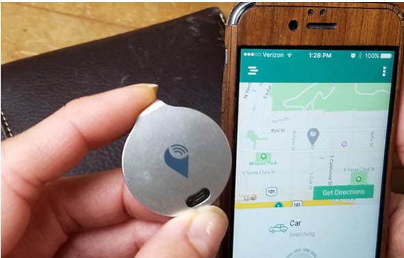 TrackR rastreo desde el teléfono inteligente