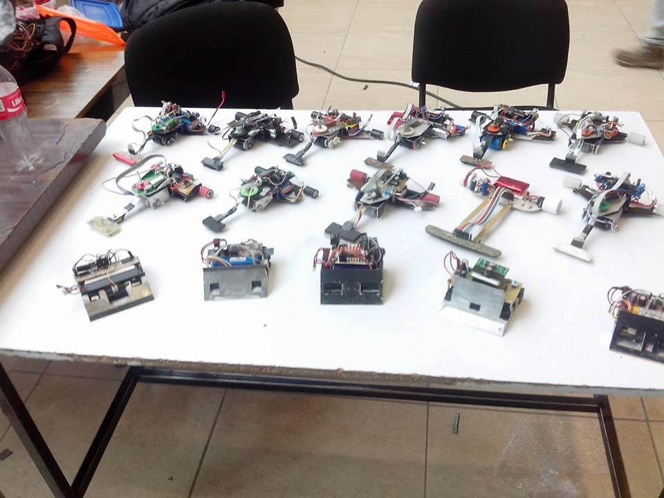 Categorías mas comunes de robots de competencia