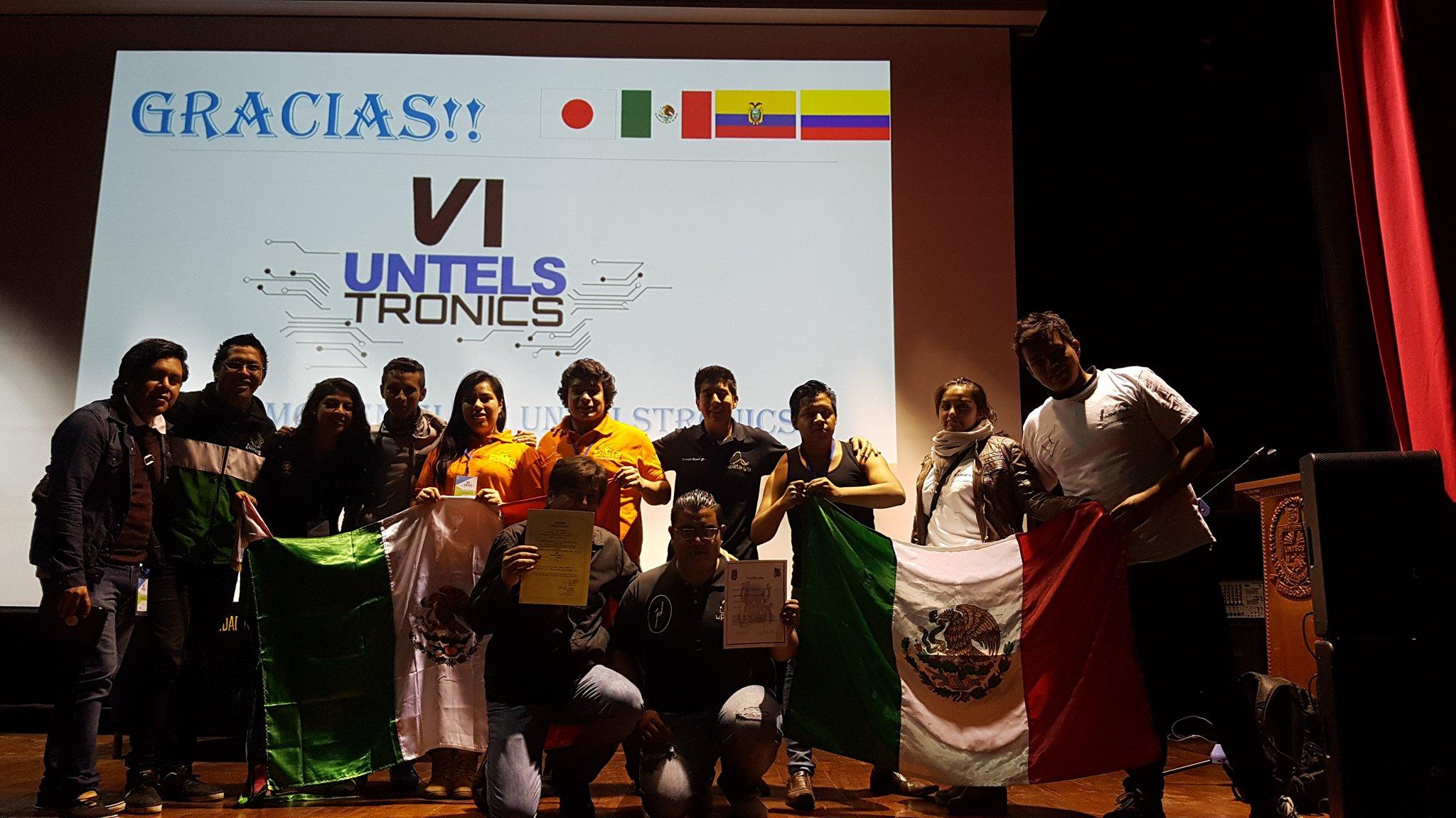 México lo logra una vez mas en robotica…