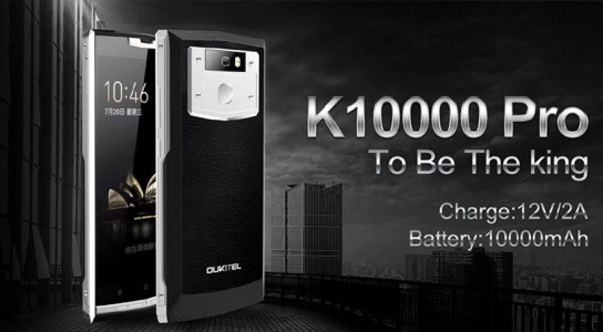 Oukitel K10000 Pro borra la línea entre el teléfono inteligente y la batería