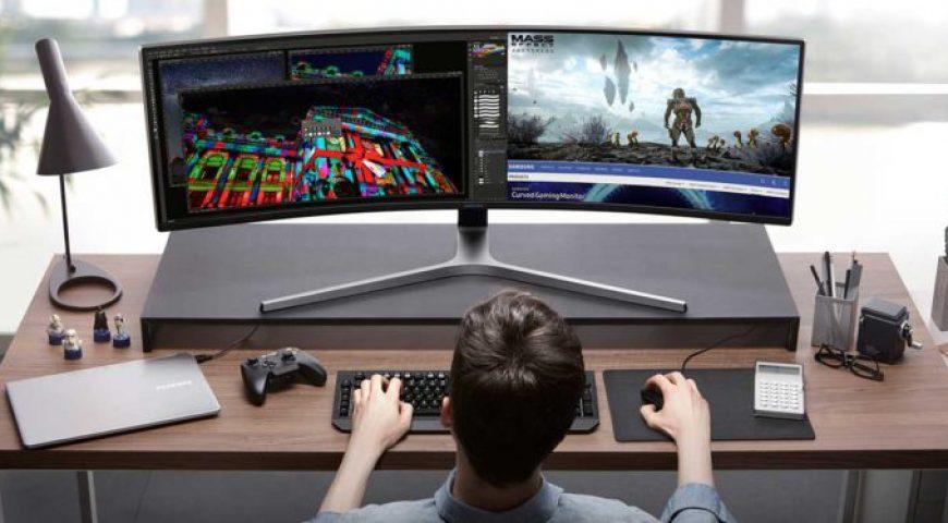 La asombrosa pantalla QLED de 49 pulgadas de Samsung está diseñada para juegos