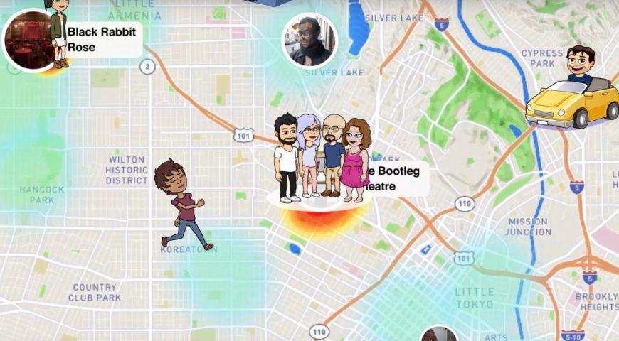La actualización de Snapchat agrega el compartimiento de ubicación de Snap Map para Snaps y Stories